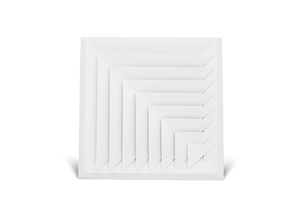 Bevelled Face Diffuser 2 way corner blow (BD25) Image