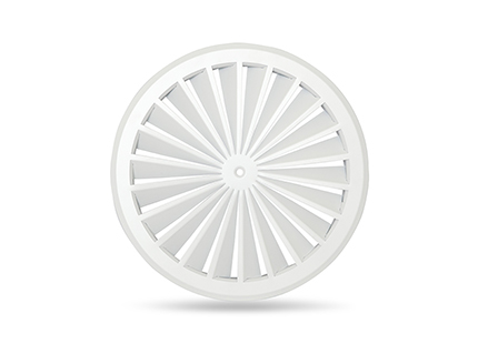 Swirl Diffuser 350 dia with round face CLEARANCE ITEM (CDS-DM350R) Image