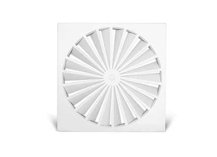 Swirl Diffuser 500 dia with square face CLEARANCE ITEM (CDS-DM500) Image