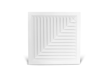 Louvre Face Diffuser 2 way corner blow (LFD25) Image